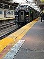 Arriving NJ Transit train in Newark Penn Station Track 1.jpg