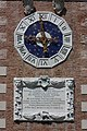 Arsenale - clock and stone plaque - Venise.jpg
