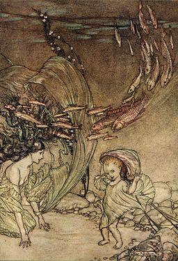 Arthur Rackham 1909 Undine (4 of 15)