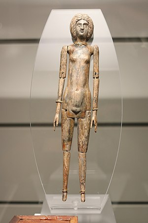Anatomically correct doll - An anatomically correct female doll from the second or third century CE