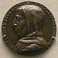 Artista fiorentino, medaglia di girolamo savonarola.JPG