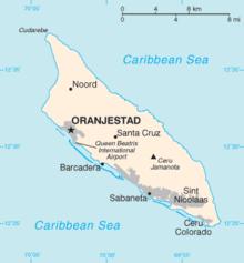 Aruba Wikipedia - Aruba and us map