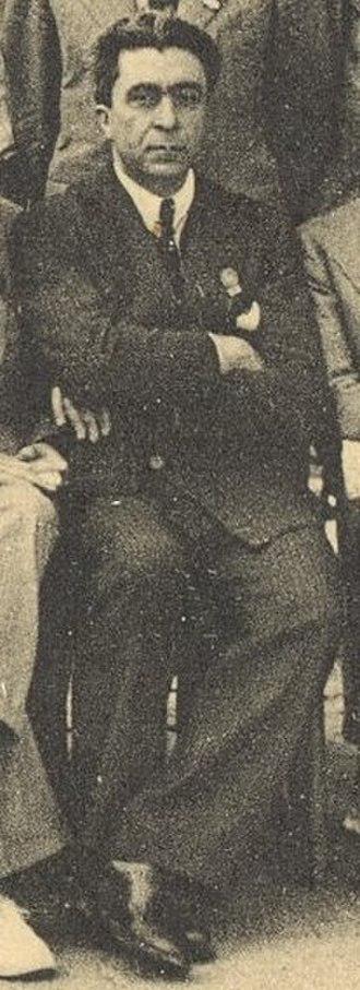 Cândido Firmino de Mello-Leitão - C. de Mello Leitão at the International Congress of Entomology in Madrid, 1935