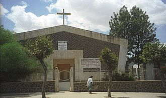 Religion in Eritrea - St. George's Episcopal Church, Asmara, Eritrea