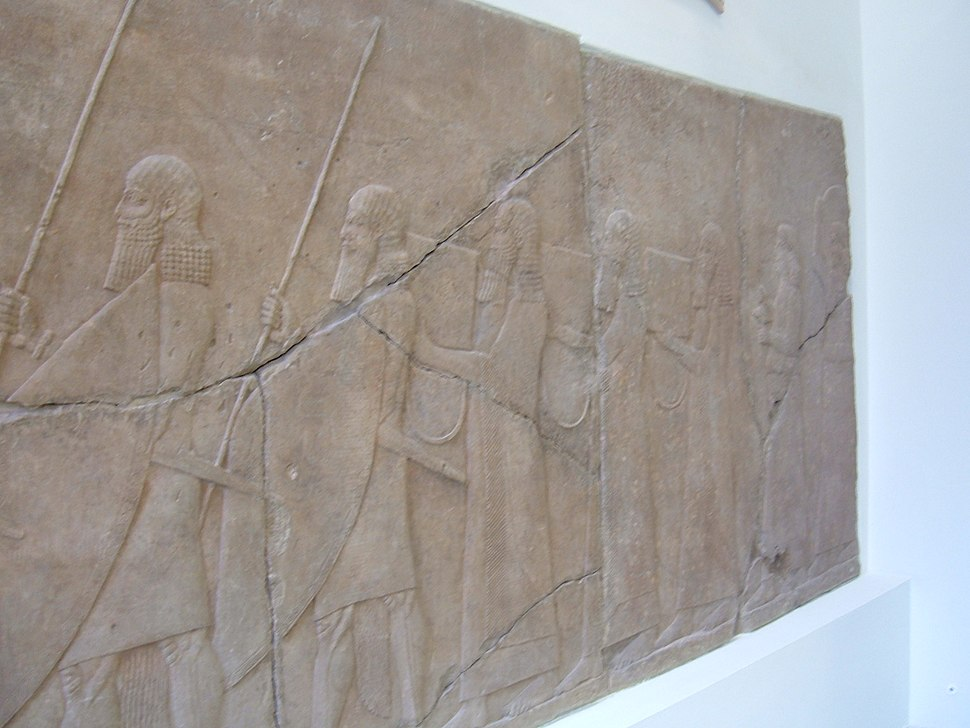 Assyrian wall relief from Nineveh PM