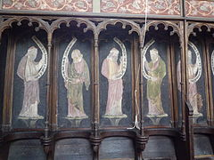 Astley church choir stall frescoes.jpg