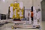Astrosat-1 prelaunch preparation in cleanroom 03.jpg