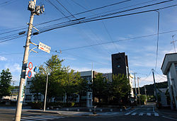 Aterazawa Oe office 2006.jpg