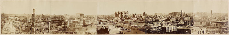 ملف:Attributed to George N. Barnard - Untitled (Chicago after the Chicago Fire) - Google Art Project.jpg
