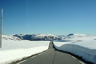 National Tourist Routes in Norway - Image: Aurlandsveien