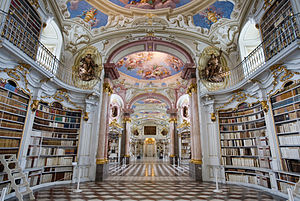 Admont Abbey - Admont Abbey library