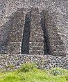 Auxiliary steps at Pirámide del Sol, Teotihuacan.jpg