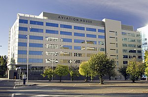 Civil Aviation Safety Authority - Image: Aviation House in Woden