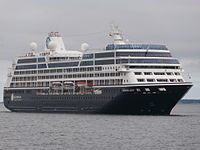 Azamara Quest arriving at Port of Tallinn 28 June 2015.JPG