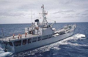 BATRAL-class landing ship - Image: BATRAL francis garnier 02