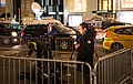 BFMTV and others reporting on the protest at Trump Tower 11-10.jpg