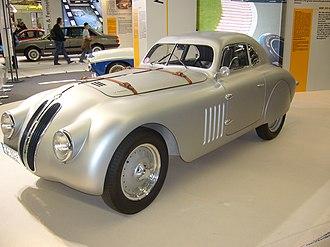 Ponton (car) - 1936 BMW 328 Mille Miglia