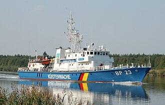 German Federal Coast Guard - German Federal Police BP23 Bad Düben