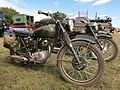 BSA military motorcycle at the War & Peace show 2010.JPG