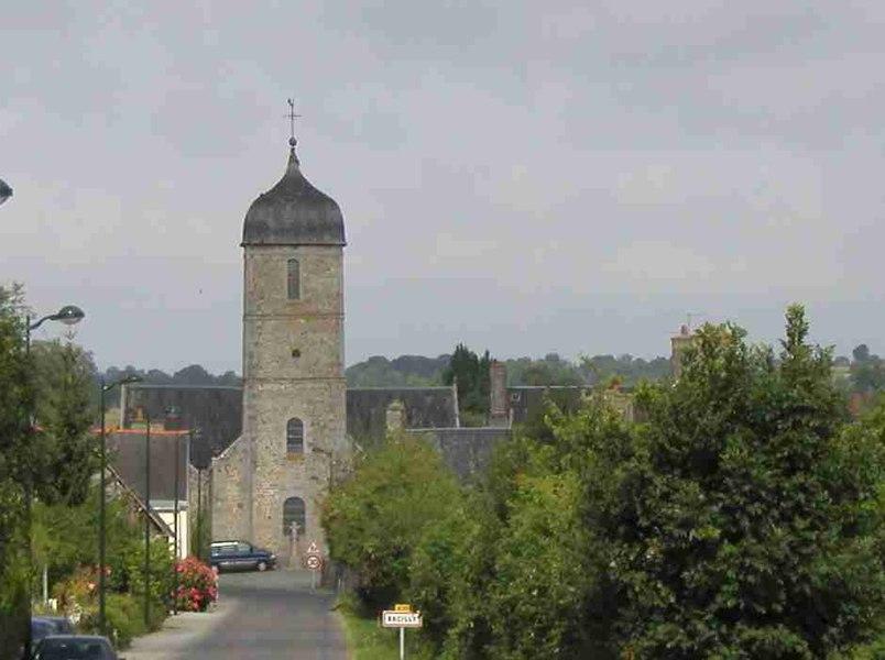 Bacilly (Manche, Basse-Normandie), Frankreich.