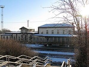 Bad Kleinen station - Image: Bad Kleinen Bahnhof 2009 01 02 011