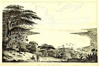 Santo Tomás de Castilla - Image: Baie et Port de Santo Thomas