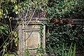 Balustrade plinth at Easton Lodge Gardens, Little Easton, Essex, England 1.jpg