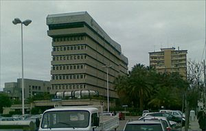 Banco di Sardegna - Legal seat building in Cagliari