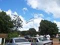 Bandera argentina, entrada al Parque Nacional Iguazú - panoramio.jpg