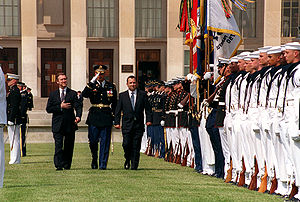 Ehud Barak - Barak at the Pentagon (1999)