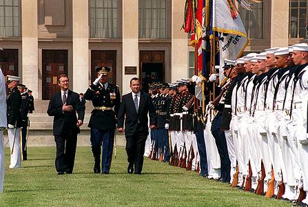 Barak pentagon 1999