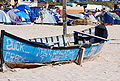 Barca pe plaja in Vama.JPG