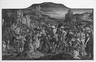 Siegen-Altar: Carrying the Cross