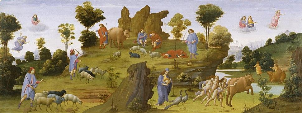 Bartolomeo di Giovanni - The Myth of Io - Walters 37421