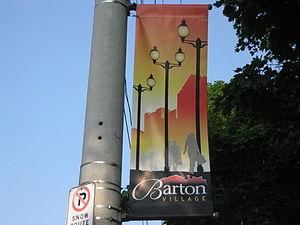 Barton Street (Hamilton, Ontario) - Barton Street banner