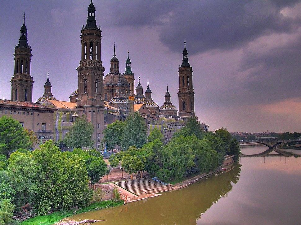 Basílica del Pilar, Zaragoza, Aragón