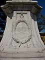 Base del monument a Johann Matthias von der Schulenburg a Corfú.JPG
