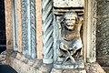 Basilica di Sant'Antonino (Piacenza), portale di marmo (1172) 09.jpg