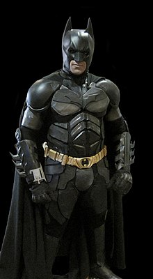 Cosplayer como Batman. 7ce25f91652b