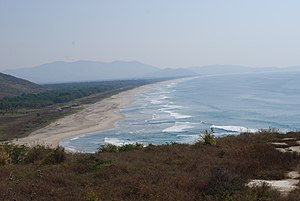 Costa Grande of Guerrero - View of El Calvario Beach on the Costa Grande