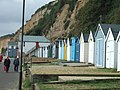 Beach huts and the IRB station at Sandown - geograph.org.uk - 2144615.jpg