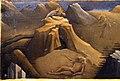 Beato angelico, pala strozzi della deposizione, con cuspidi e predella di lorenzo monaco, predella s. onofrio 02.JPG