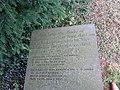 Bedd Twm o'r Nant, Llanfarchell, Dinbych 03.jpg