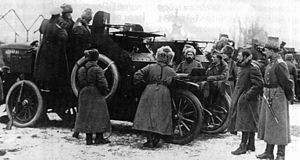 Belgian Expeditionary Corps in Russia - Image: Belgian corps in Russia