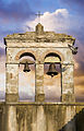 Bell tower with two bells, Rome - 1623.jpg