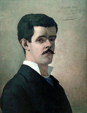 Belmiro de Almeida - Self-portrait (1883)