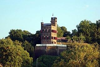 Foto van de Belvédère bij Nijmegen (Wikipedia)