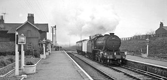 Bempton railway station - Bempton station in 1961