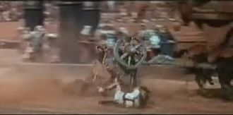 Ben-Hur (1959 film) - Chariot wreckage in Ben-Hur