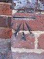 Bench mark on Castle Street - geograph.org.uk - 2084016.jpg
